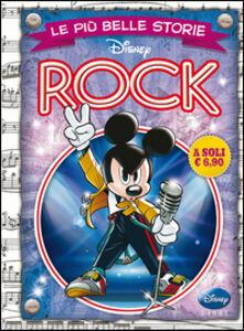 Foto Cover di Le più belle storie rock, Libro di  edito da Disney Libri