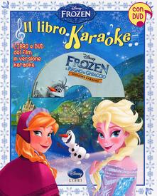 Winniearcher.com Il libro karaoke. Frozen. Ediz. illustrata. Con DVD Image
