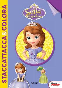 Foto Cover di Sofia la principessa. Con adesivi, Libro di  edito da Disney Libri