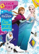 Libro Crea un mondo di ghiaccio. Stick & play. Frozen. Con adesivi Tea Orsi