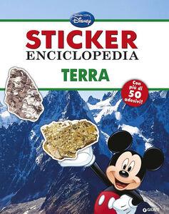 Foto Cover di Terra. Sticker enciclopedia, Libro di  edito da Disney Libri