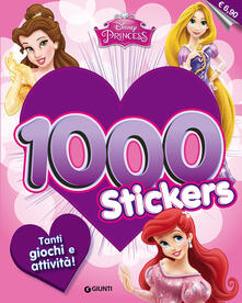 Scacciamoli.it Disney princess. 1000 stickers. Con adesivi Image
