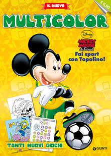 Antondemarirreguera.es Topolino sport. Il nuovo multicolor Image