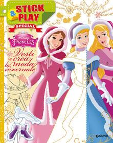 Winniearcher.com Vesti e crea la moda invernale. Stick & play. Princess. Con adesivi Image