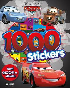 Cars. 1000 stickers. Con adesivi. Ediz. illustrata