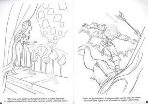 L Intreccio Della Torre Rapunzel Staccattacca E Colora Con