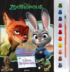 Zootropolis. Libro acquerello. Con gadget
