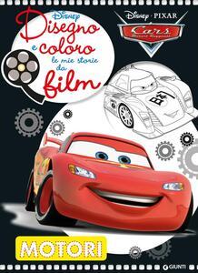Motori. Cars. Disegno e coloro le mie storie da film