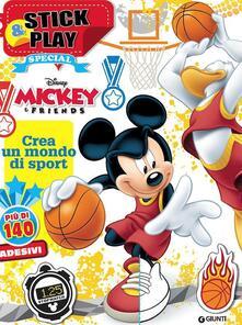 Topolino. Crea un mondo di sport. Mickey&friends. Stick & play special. Con adesivi. Ediz. illustrata.pdf