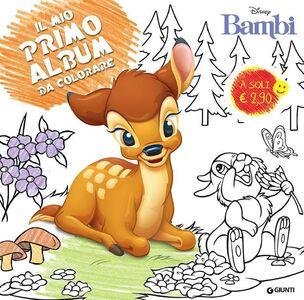 Libro Bambi. Il mio primo album da colorare