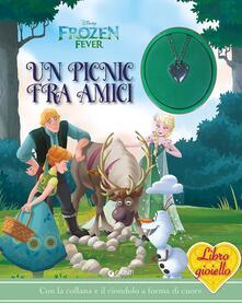 Amatigota.it Un picnic tra amici. Frozen. Libro gioiello. Con gadget Image