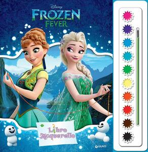 Frozen fever. Libro acquerello