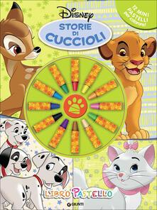 Osteriacasadimare.it Storie di cuccioli. Libro pastello. Con 12 mini pastelli Image