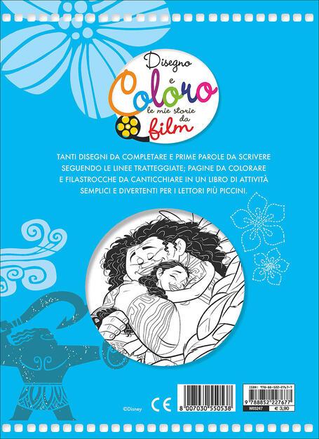 Oceania Disegno E Coloro Le Mie Storie Da Film Libro Disney