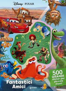 Tegliowinterrun.it Amici fantastici. Disney Pixar. 500 stickers. Ediz. a colori Image