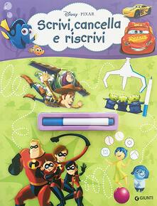 Librisulladiversita.it Scrivi, cancella e riscrivi. Pixar. Con pennarello cancellabile Image