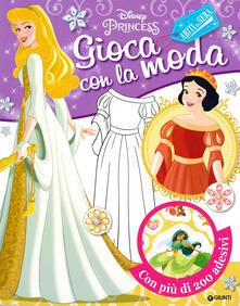 Ascotcamogli.it Gioca con la moda. Abiti da sera. Disney princess. Con adesivi Image