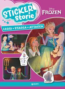 Lpgcsostenible.es Frozen. Sticker storie. Leggi stacca attacca. Con adesivi Image