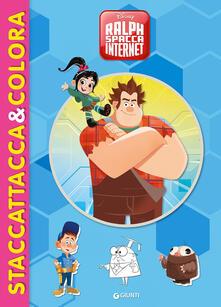 Milanospringparade.it Ralph Spacca Internet. Staccattacca&colora. Con adesivi. Ediz. illustrata Image