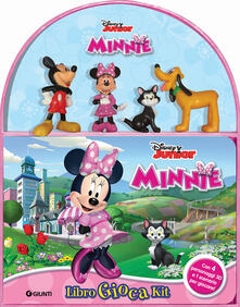Camfeed.it Minnie. Libro gioca kit. Con gadet Image