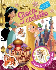 Ilmeglio-delweb.it Le stanze reali di Jasmine e Rapunzel. Disney princess. Gioca nel castello. Con adesivi Image