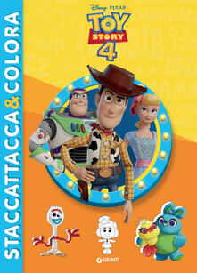 Voluntariadobaleares2014.es Toy Story 4. Staccattacca & colora. Con adesivi. Ediz. illustrata Image