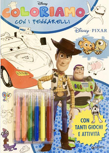 Antondemarirreguera.es Coloriamo con i pennarelli. Disney Pixar. Super album. Con pennarelli Image