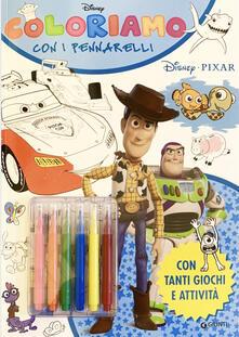 Coloriamo con i pennarelli. Disney Pixar. Super album. Con pennarelli.pdf