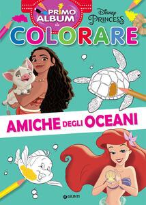 Libro Amiche degli oceani. Primo album da colorare. Ediz. a colori