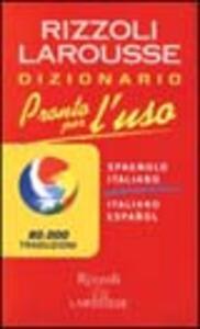 Dizionario italiano-spagnolo, spagnolo-italiano