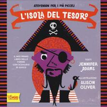 Listadelpopolo.it L' isola del tesoro. Il mio primo libro delle forme con scenario di gioco. Ediz. illustrata Image