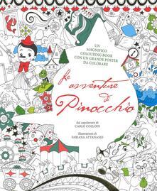 Voluntariadobaleares2014.es Le avventure di Pinocchio. Colouring book da Carlo Collodi. Con poster. Ediz. illustrata Image