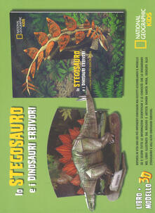 Mercatinidinataletorino.it Lo stegosauro e i dinosauri erbivori. Dinosauri 3D. Ediz. a colori. Con gadget Image