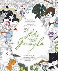 Ipabsantonioabatetrino.it Il libro della giungla. Colouring book. Con poster. Con Poster Image