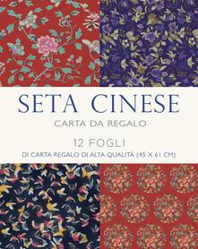 Osteriacasadimare.it Seta cinese. 12 fogli di carta regalo di alta qualità. Ediz. a colori Image
