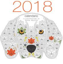 Winniearcher.com Cani coloring. Calendario da muro 2018 Image