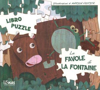 Le favole di La Fontaine. Libro puzzle