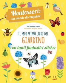Antondemarirreguera.es Il mio primo libro del giardino. 5-6 anni. Montessori: un mondo di conquiste. Con adesivi Image