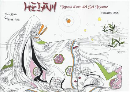 Heian. L'epoca d'oro del Sol Levante. Coloring book