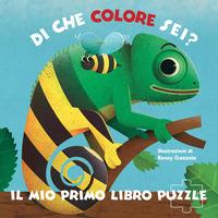 Di che colore sei? Il mio primo libro puzzle. Ediz. a colori - Gazzola Ronny - wuz.it