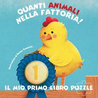 Quanti animali nella fattoria! Il mio primo libro puzzle. Ediz. a colori - Gazzola Ronny - wuz.it