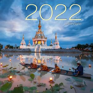Libro Mindfulness. Calendario da muro 2022
