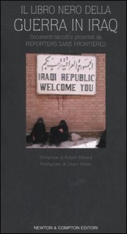 Il libro nero della guerra in Iraq - copertina