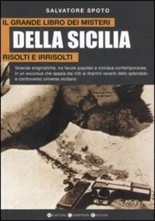 Antondemarirreguera.es Il grande libro dei misteri della Sicilia risolti e irrisolti Image