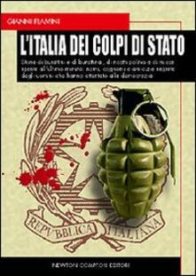 L' Italia dei colpi di Stato - Gianni Flamini - copertina