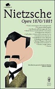 Opere 1870-1881