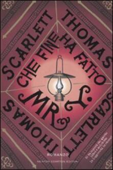Che fine ha fatto Mr Y - Scarlett Thomas - copertina