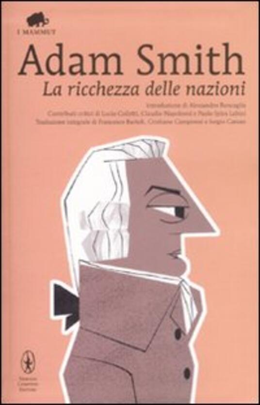 La ricchezza delle nazioni - Adam Smith - copertina