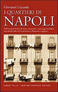 Foto Cover di I quartieri di Napoli, Libro di Giovanni Liccardo, edito da Newton Compton