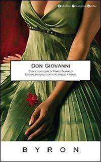 Don Giovanni. Testo inglese a fronte - Byron George G. - wuz.it